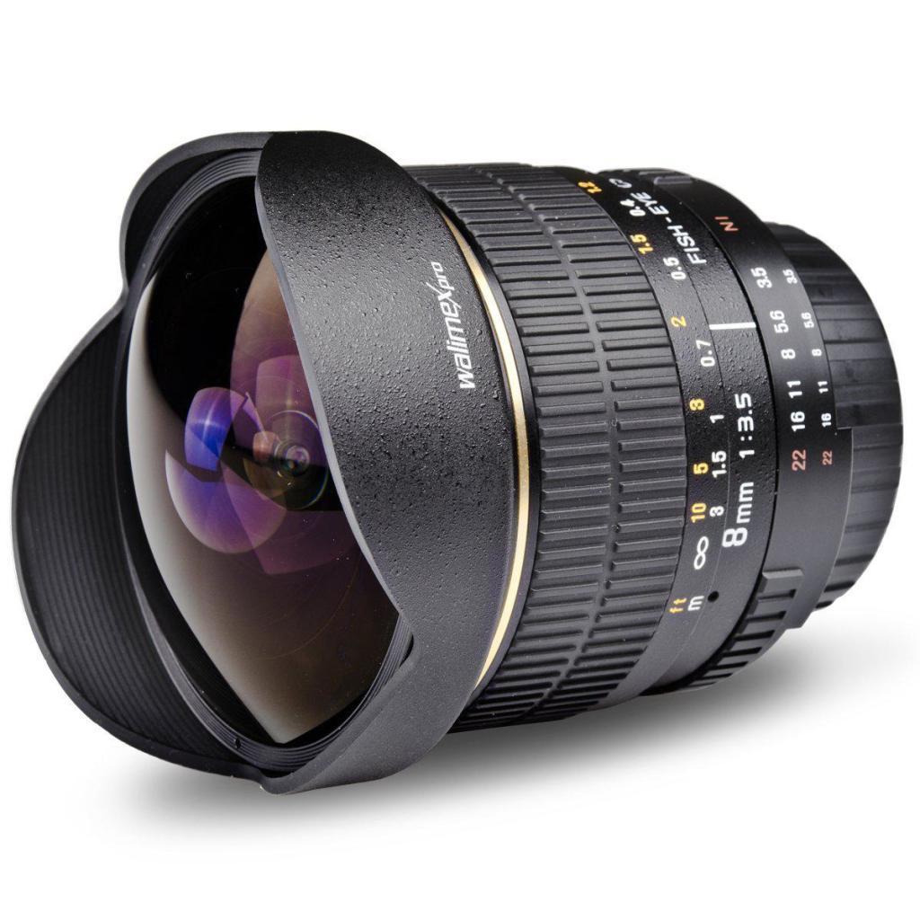 Objectif Reflex Walimex Pro 8/3,5 IF Fish-Eye pour Samsung NX