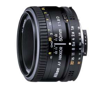 Objectif Nikon AF 50mm f1.8 D (et 50mm f1.8G)