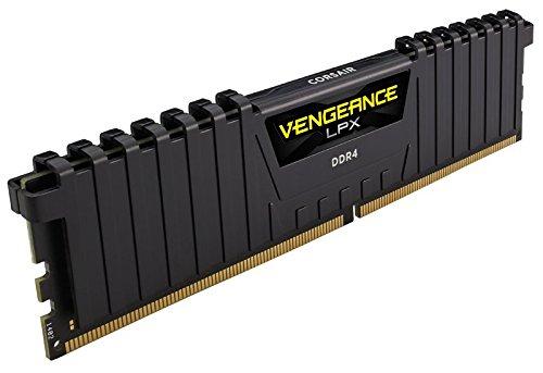 Barrette mémoire RAM Corsair Vengeance LPX -  8 Go , DDR4, 3000 MHz, C16, noir