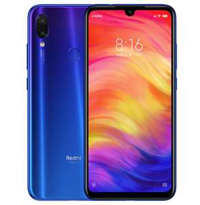 "Smartphone 6,3"" Xiaomi Redmi Note 7 (ROM Global) - Snapdragon 660, 3Go RAM, 32Go ROM, sans B20 (156,43€ via le Coupon)"