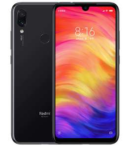 "Smartphone 6,3"" Xiaomi Redmi Note 7 (ROM Global) - Snapdragon 660, 4Go RAM, 64Go ROM, sans B20 (179€ via le Coupon)"