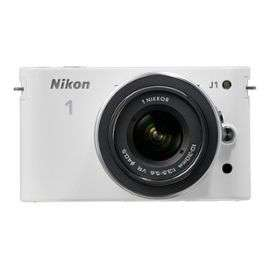 Appareil photo Nikon 1 J1 + Nikko VR 10-30 blanc ou noir - reconditionné