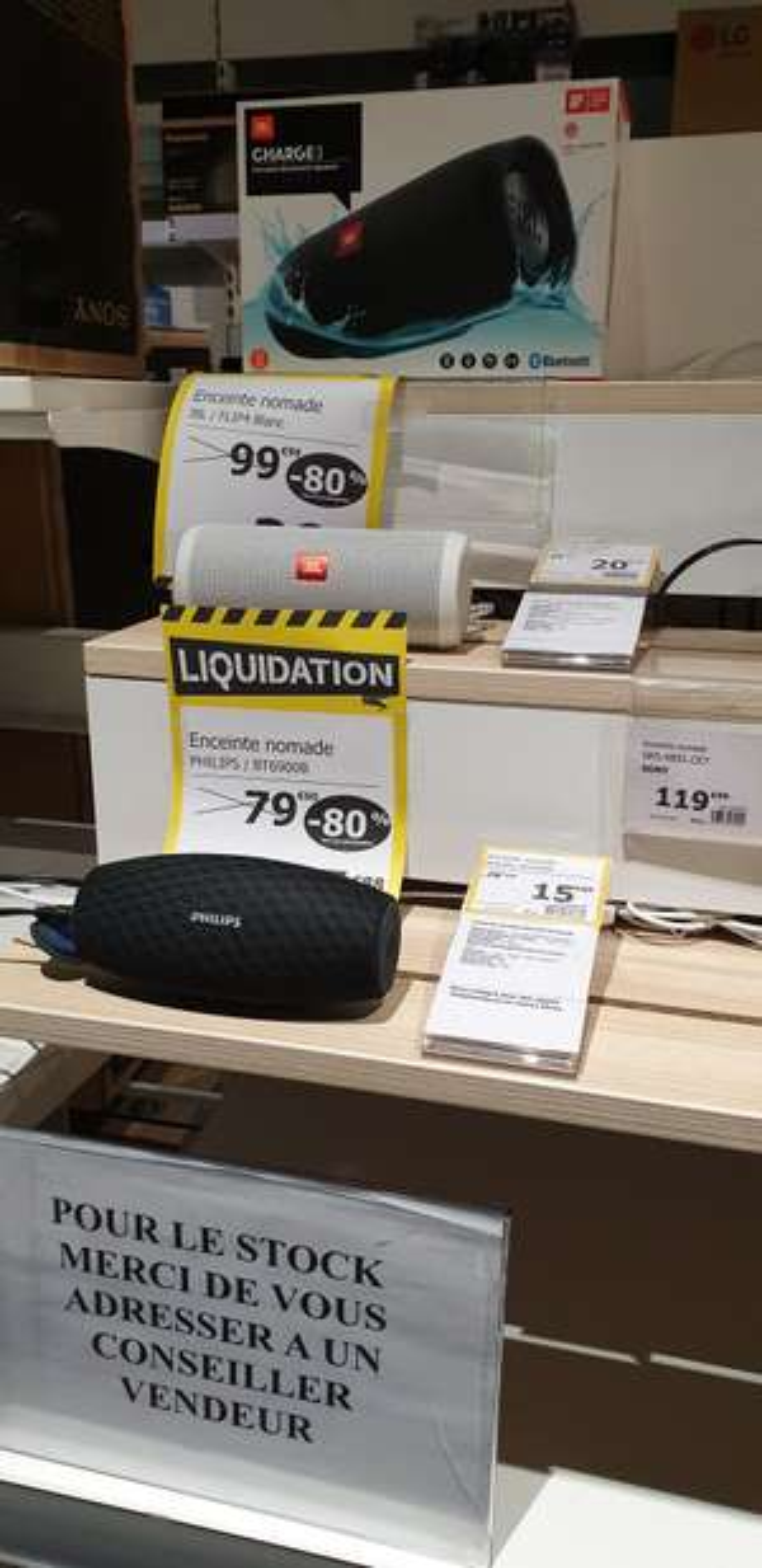 Enceinte Bluetooth Philips BT6900B - Lattes (34)