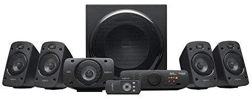 Kit d'Enceintes 5.1 Logitech Z906 - Son Dolby Surround 51, THX, 1000W