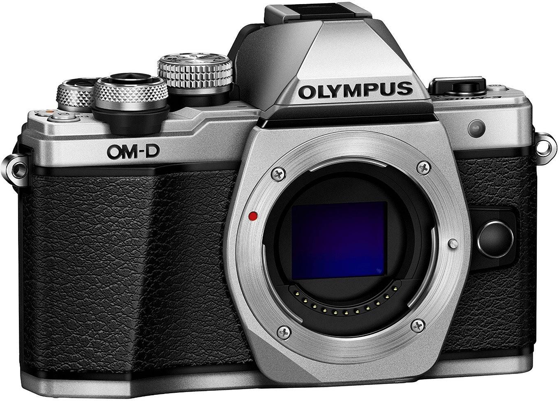 Appareil photo numérique hybride Olympus OM-D E-M10 Mark II - 16.1 Mpix, Live MOS, stabilisation 5 axes, 1080p, Wi-Fi