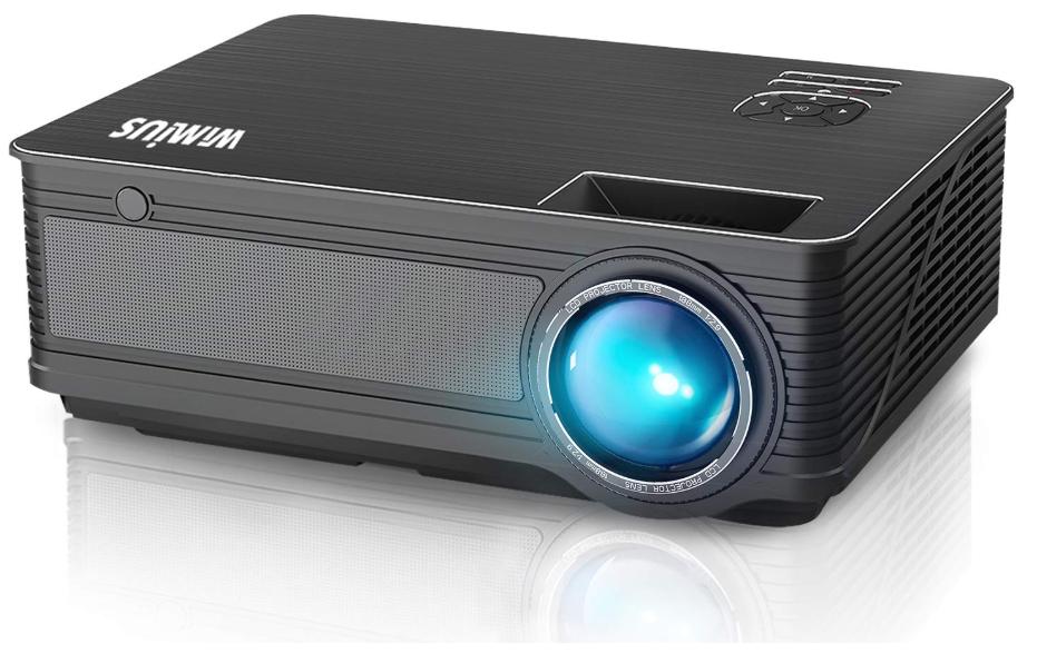 Vidéoprojecteur WiMiUS - 4200 Lumens, résolution native 1280 x 800P (Vendeur tiers)