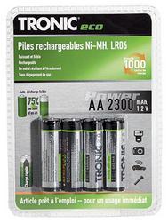 Piles rechargeables Ni-MH - FAD - Lot au choix