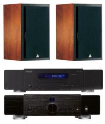 PAck Hifi : Paire d'enceintes Triangle Comete 202 + Ampli Advance MAP101 MKII + Platine CD Advance MCD 200