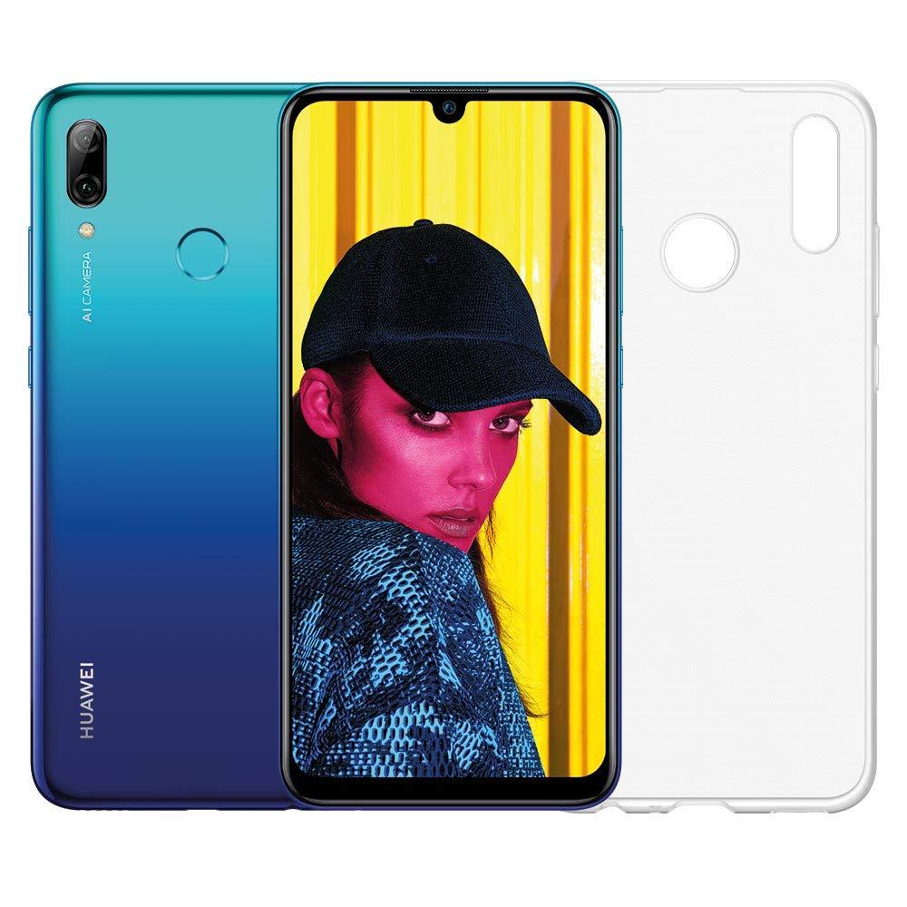 "Smartphone 6.21"" Huawei P Smart (2019) + Coque - Kirin 710, 64 Go, 3 Go RAM, Bleu"