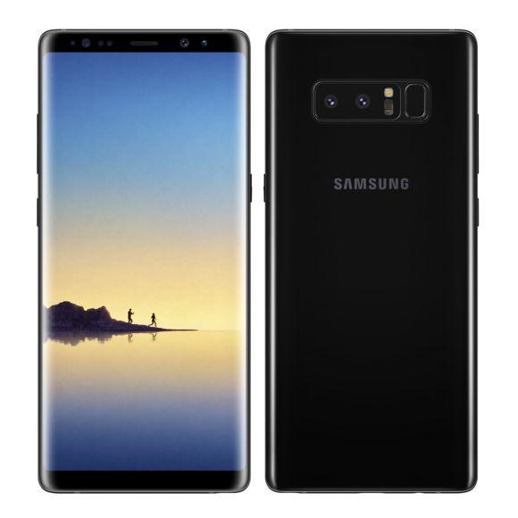 """Smartphone 6.3"""" Samsung Galaxy Note 8 - QHD+, Exynos 8895, 6 Go RAM, 64 Go ROM, Noir ou Or"""