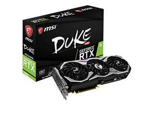 Carte graphique MSI Geforce RTX 2080 Duke OC