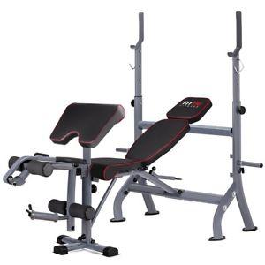 Banc de musculation multifonctions réglable FITFIU Fitness