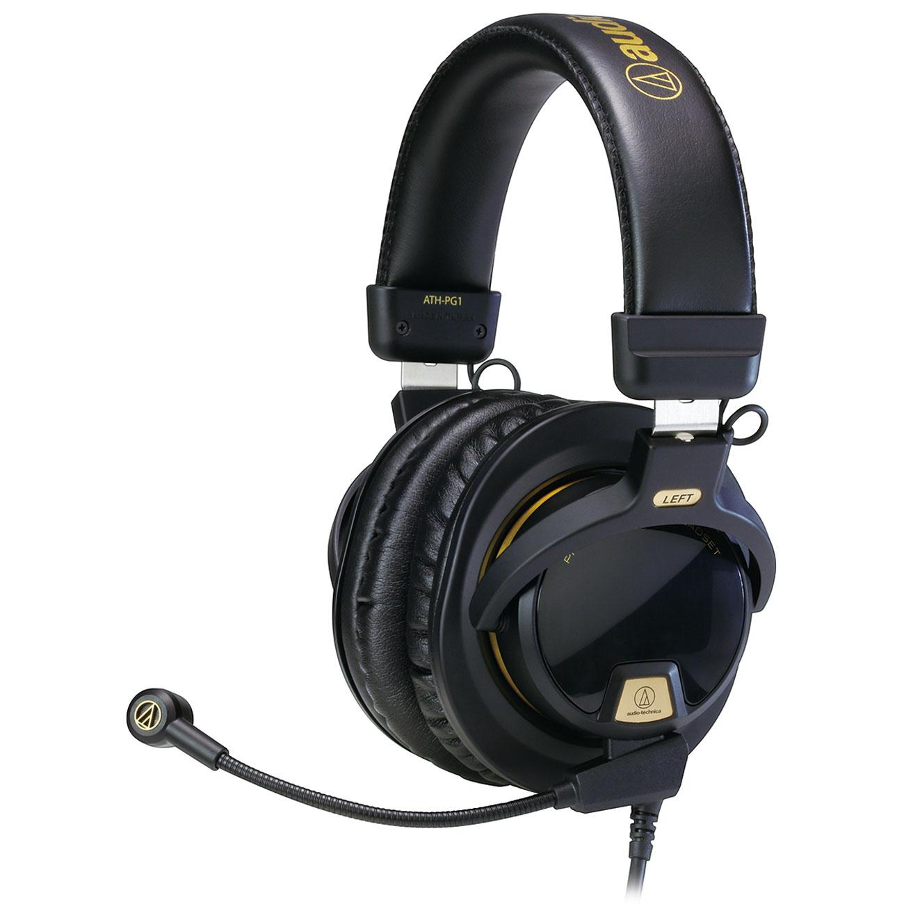 Casque-micro Audio fermé Audio Technica ATH-PG1