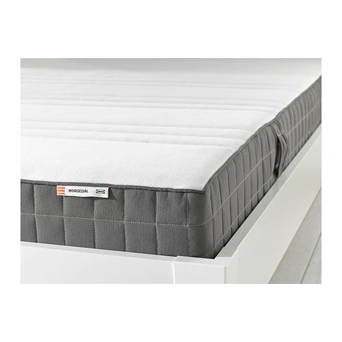 Matelas Ikea Morgedal ferme - 140x200 cm, gris foncé