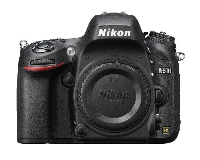 Appareil photo numérique reflex Nikon D610 - 24.3 Mpix, CMOS, full HD