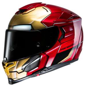 Casque Moto Intégral Hjc Rpha 70 Iron Man Homecoming Taille Xs