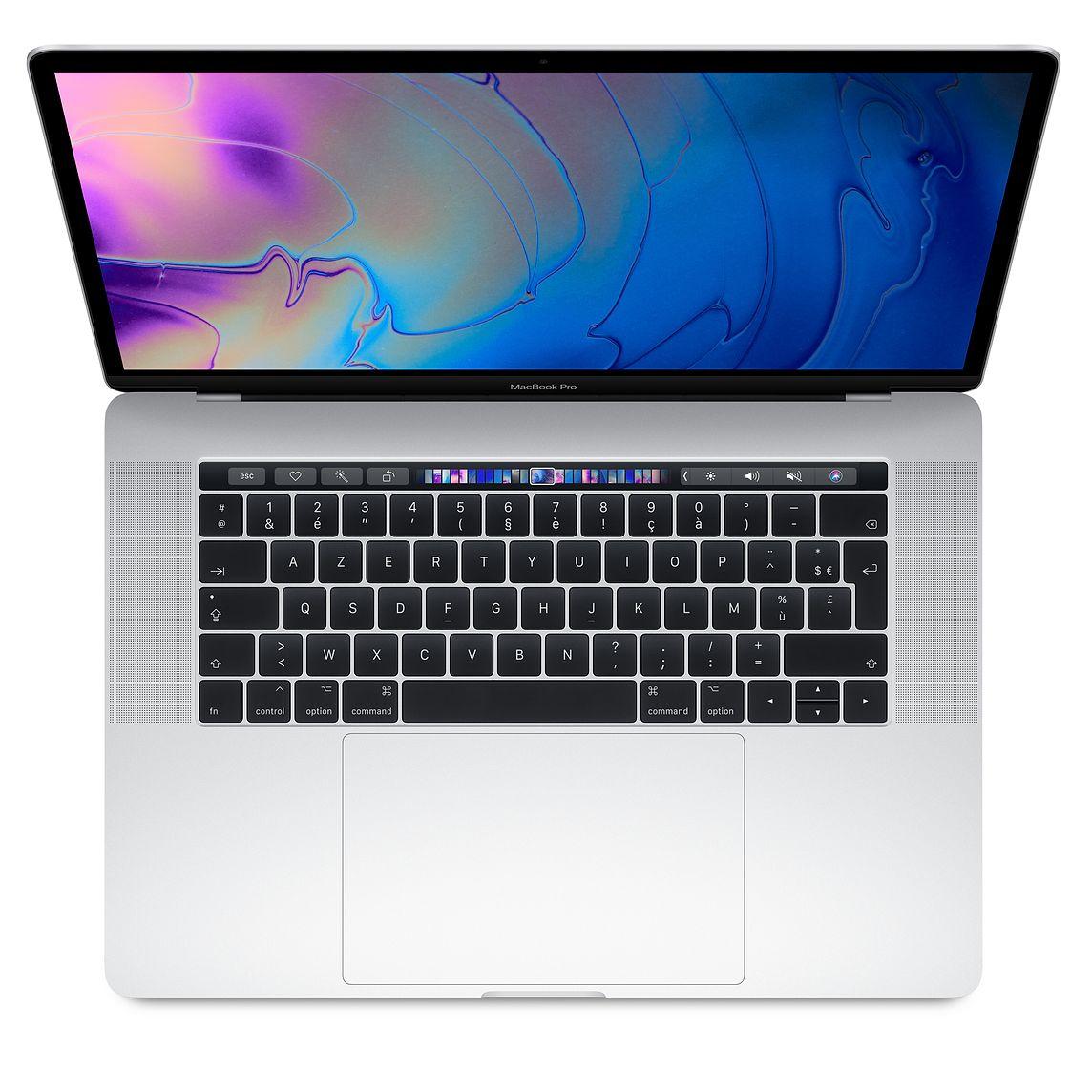"Ordinateur Portable 15.4"" MacBook Pro Retina Touch Bar - Intel i7, 16 Go RAM, SSD 256 Go, Radeon Pro 555X - 4 Go (Reconditionné)"