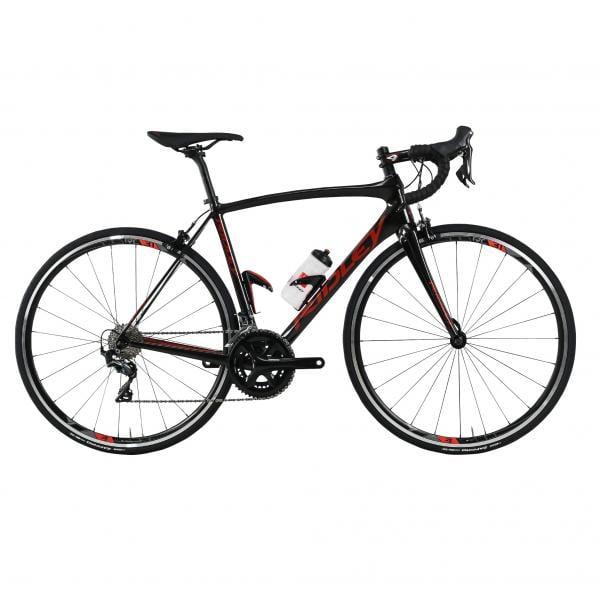 Vélo de route RIDLEY Fenix Carbon Ultegra Mix - Noir et Rouge, 2018