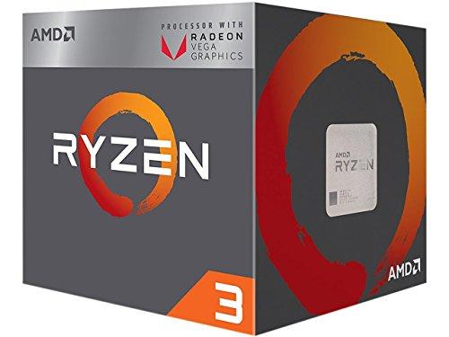 Processeur AMD Ryzen 3 2200G avec GPU intégré - 3.5 GHz