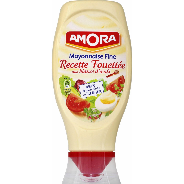 Mayonnaise Fine Amora 398 gr (avec 1.54€ sur la carte fidélité)