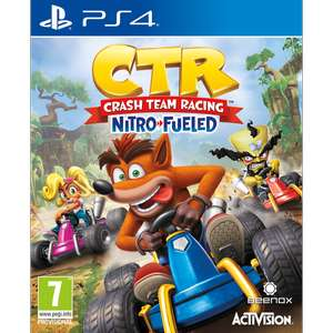 Précommande Crash Team Racing Nitro Fueled sur PS4