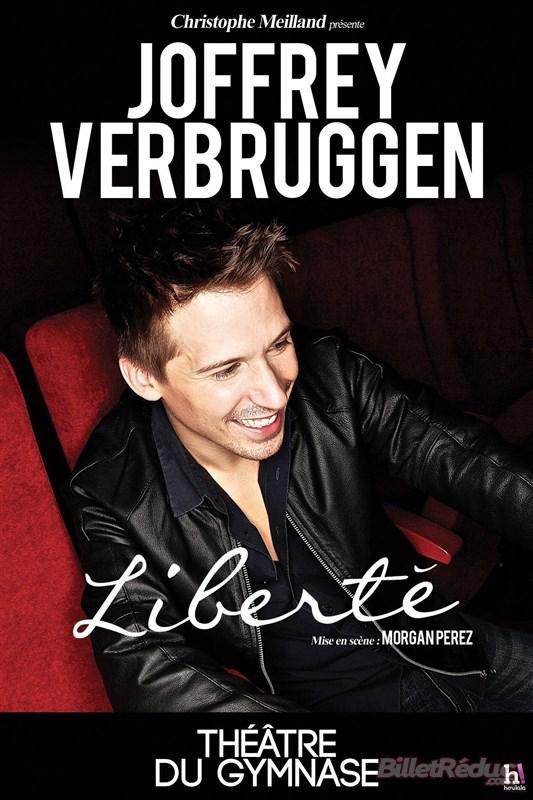 Place pour le spectacle Liberté de Joffrey Verbruggen au Théâtre du Petit Gymnase (Paris)