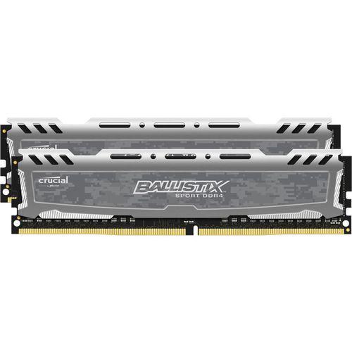 Kit RAM Crucial Ballistix Sport 8Go (2x4Go) DDR4 2400 MHz