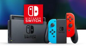 Console Nintendo Switch avec paire de Joy-Con Bleu et Rouge (via 29,90 € en bon d'achat) - Saint Aunes (34)