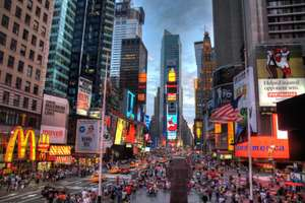 Vol A/R Paris <> New York avec escale