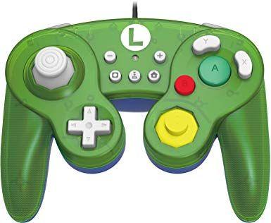 Manette GameCube Hori Luigi pour Nintendo Switch