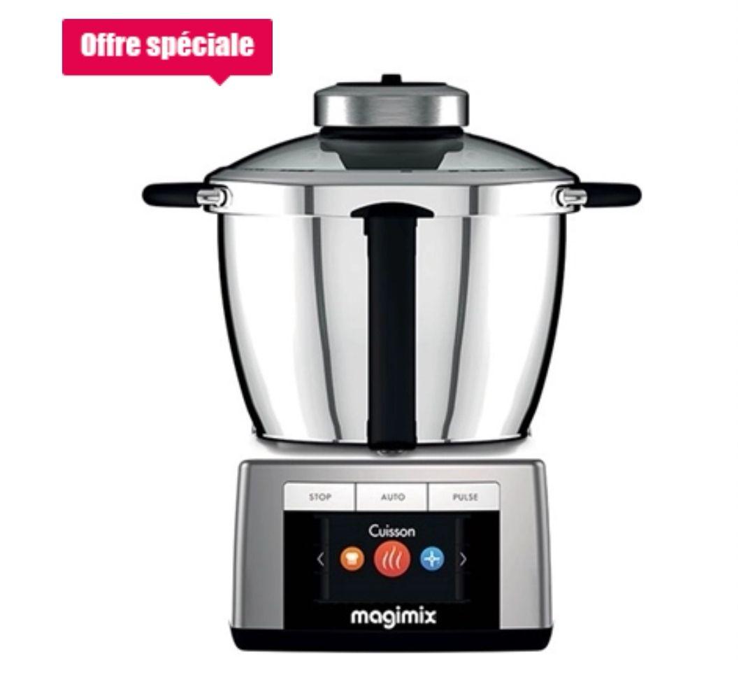 Robot cuiseur Magimix Cook expert + Accessoires