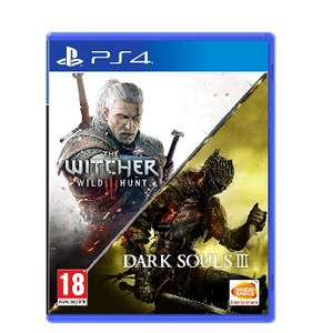 Jeu The Witcher 3 + Dark Souls 3 sur PS4