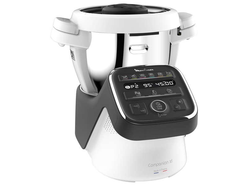 Robot cuiseur Moulinex Companion HF808800 - Blanc