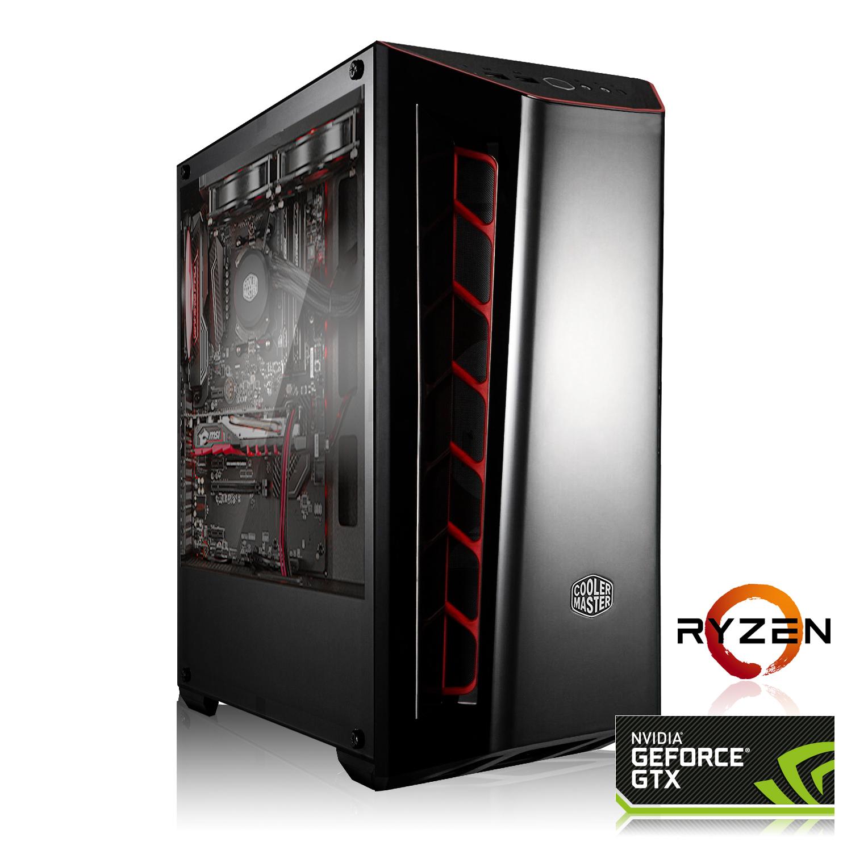 Tour PC Fixe Gaming Bolt - Ryzen 5 2600, GTX 1660 OC (6Go), RAM 16Go (3000Mhz), 240Go SSD, Alim. 550W (690,80 avec GTX 1660 Ti)