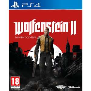 Wolfenstein II : The New Colossus sur PS4