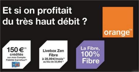 150€ sur la carte carrefour + 50€ parrainage + 50€ résiliation + -5€/Mois