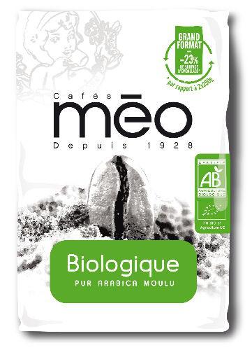 2 pack de Café Méo Bio 500G Moulu