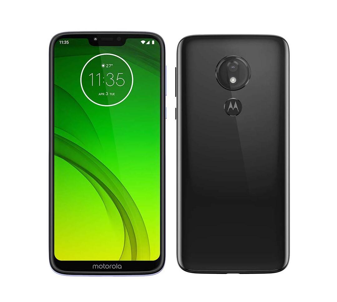 "Smartphone 6,2"" Motorola G7 Power - 64GO ROM, 4GO RAM, batterie de 5000 mAh"