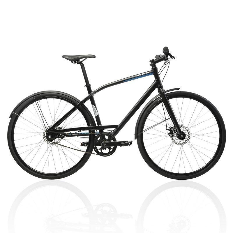 Vélo de ville B'Twin Nework 500 (Taille M)