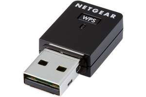 Dongle USB nano Wi-Fi Netgear MINI N300 - 300Mbps