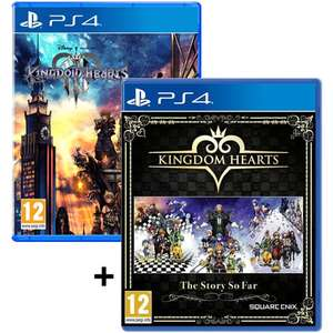 Pack Kingdom Hearts The Story So Far + Kingdom Hearts 3 sur PS4