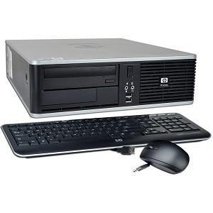 Unité centrale HP DC7900 (E8400, 2 Go RAM, 160 Go) avec clavier et souris - Reconditionnée