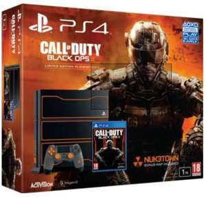 Console Sony PS4 1 To - Edition collector + Call of Duty Black Ops III