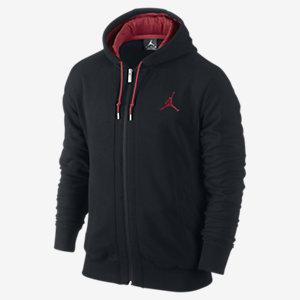 Sweat homme Nike Jordan - Noir / Rouge - Taille S