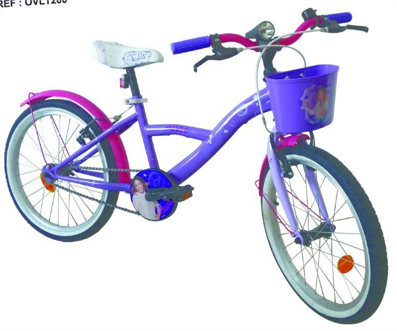 """Vélo 20"""" D'arpeje Violetta pour fille - Violet"""