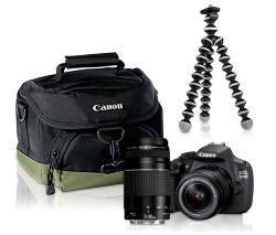 Reflex Canon EOS 1200D + 2 objectifs (EF-S 18-55mm DC III & EF 75-300mm III) + Trepied Gorilla Reflex + Sac Canon 100EG (avec 80€ en bon d'achat)