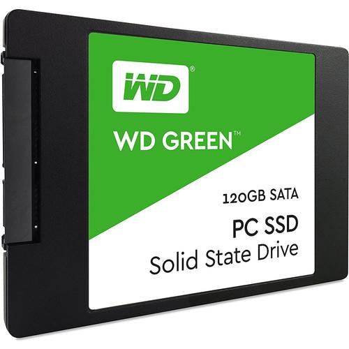 """SSD Interne 2,5"""" Western Digital Green - 120 Go"""