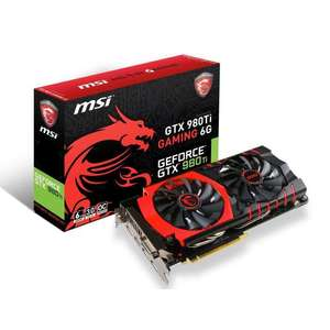 Carte graphique MSI GTX 980Ti Gaming 6G