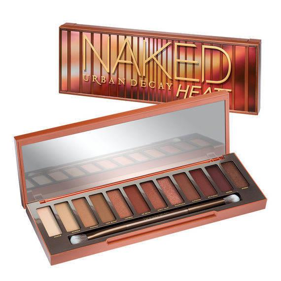 Palette Fards à Paupières Naked Heat + Base Eyeshadow Primer Potion + Mascara Perversion + Spray All Nighter