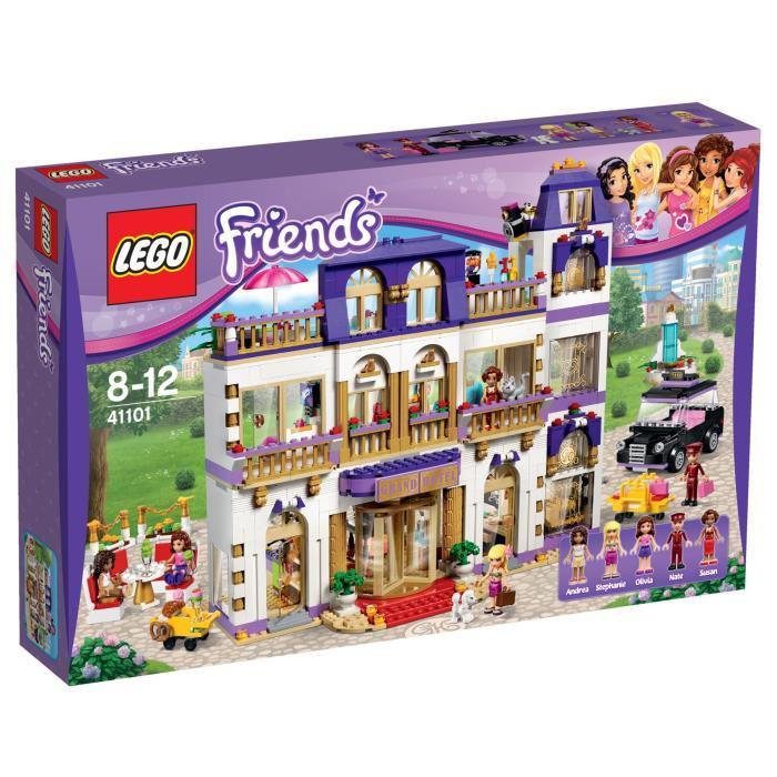 Jeu de construction Lego Friends - Le Grand Hôtel de Heartlake City - n°41101